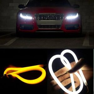 Visibilité 2x 7 LED Motorcycle Turn Signal Indicator Amber
