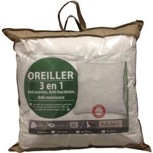 OREILLER Oreiller 65x65 Anti-acariens, bactériens et fongiq