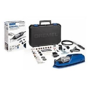 OUTIL MULTIFONCTIONS DREMEL Outil multi-usage 4000-4/65 - 4 adaptations