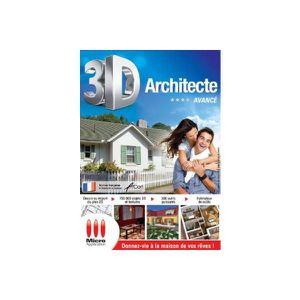 BUREAUTIQUE Logiciel PC MICRO APPLICATION 3D Arcitecte Av