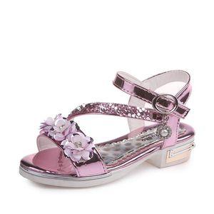4966c0a4cdf2a SANDALE - NU-PIEDS Enfant Sandales Fille Mode Talon haut Chaussures p