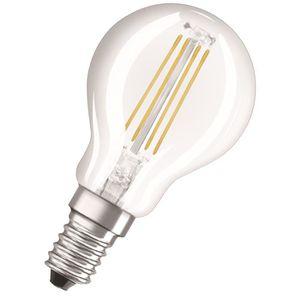 AMPOULE - LED NEOLUX Ampoule LED E14 sphérique claire 4 W équiva