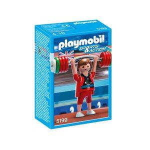 UNIVERS MINIATURE Playmobil Haltérophile