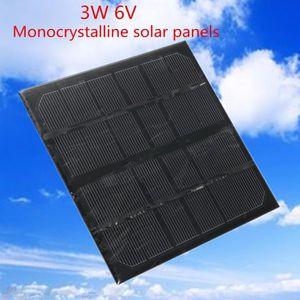 KIT PHOTOVOLTAIQUE TEMPSA 3W 6V Mini Mono Panneau solaire Module