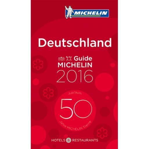 GUIDES MONDE Guide Michelin Deutschland
