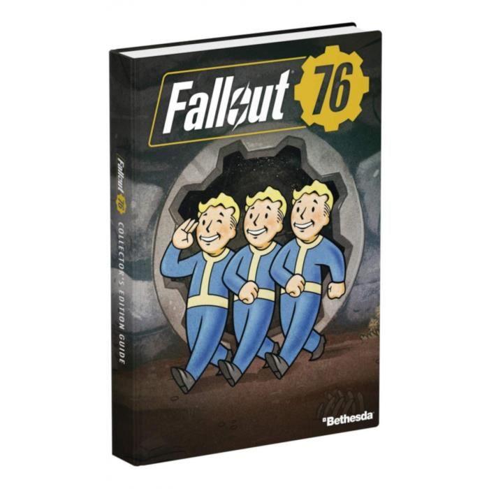 GUIDE JEUX VIDÉO Guide de jeu Fallout 76 - Edition Collector