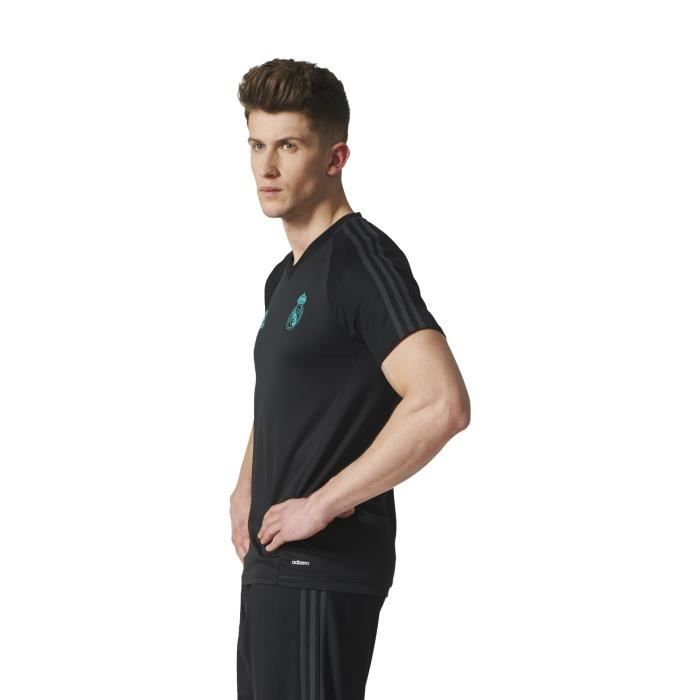 ADIDAS Maillot de football Real Tranning Top 17 - Homme - Noir