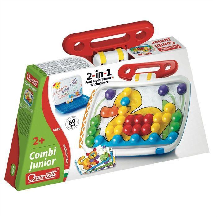 QUERCETTI - Combi Junior - Dimensions 42 x 36 x 7 cm - Mixte - A partir de 24 mois - Livré au cartonTABLE ACTIVITE - JOUET D'ACTIVITE