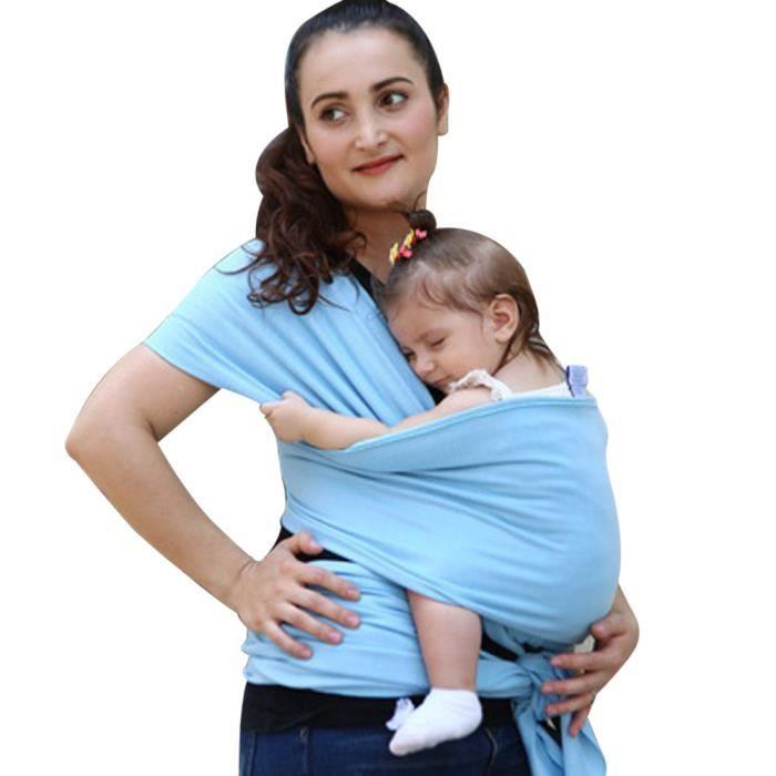 Bébé Wrap Sling Stretchy nouveau-né nourrissons allaitement respirant  transporteur respirant  mv233 fe6feb85e01