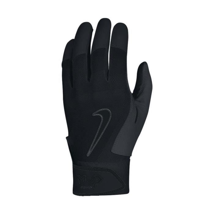 big sale 4d39c 49f59 Vêtements, chaussures et accessoires de baseball Nike Force Elite Gants  Batteur Noir Blanc Baseball pour Homme Grand