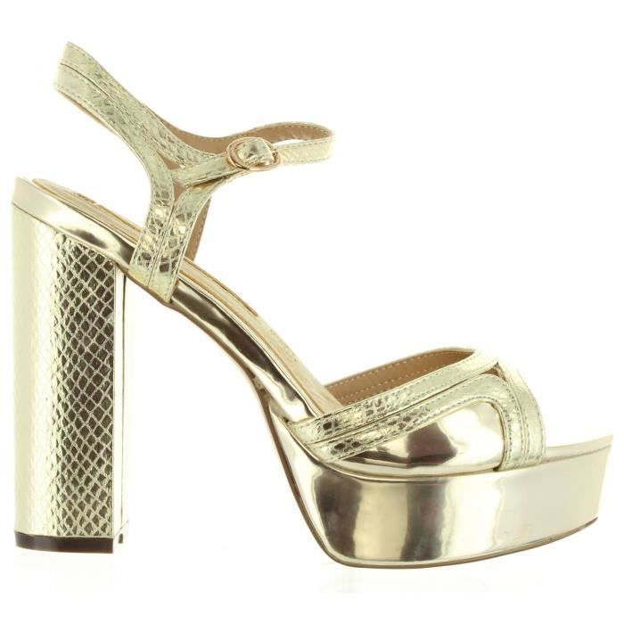Maria Mare 66364 Gold - Chaussures Sandale Femme