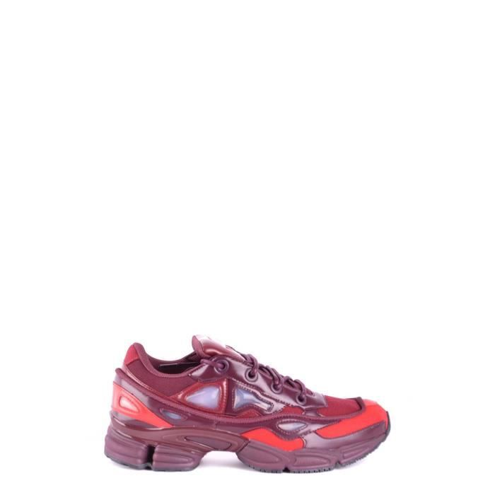 competitive price 200fd 72bdf BASKET ADIDAS BY RAF SIMONS HOMME B22538 BORDEAUX POLYEST