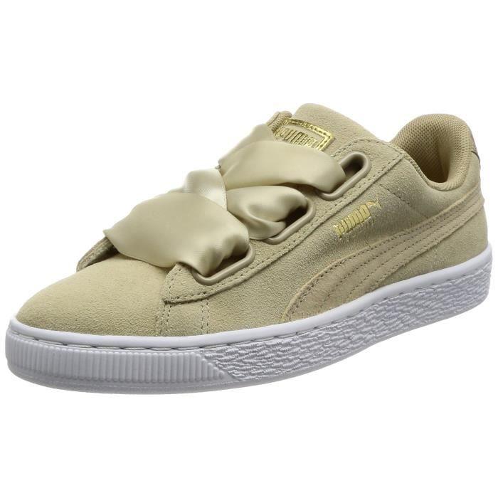 Top Low Women's Puma Taille Suede Safari 3kbwp6 Heart 37 Sneakers c354RLAjq