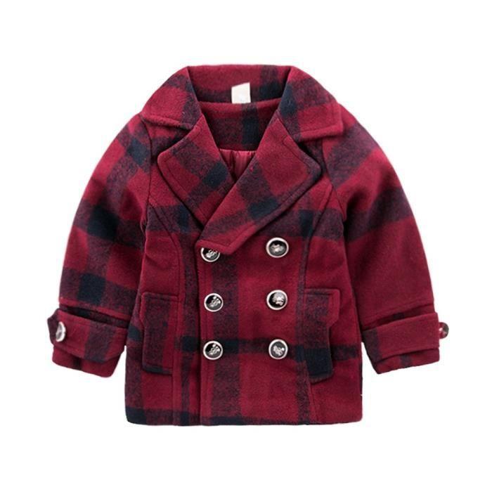 a5f044743ef7 Manteau Enfants Manteau Mignon Trench Bébé Manteau Garçons Filles Enfants  Enfants Vêtements
