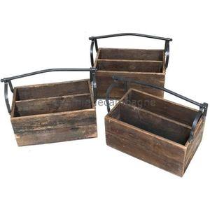 ancienne caisse en bois achat vente ancienne caisse en bois pas cher soldes d s le 10. Black Bedroom Furniture Sets. Home Design Ideas