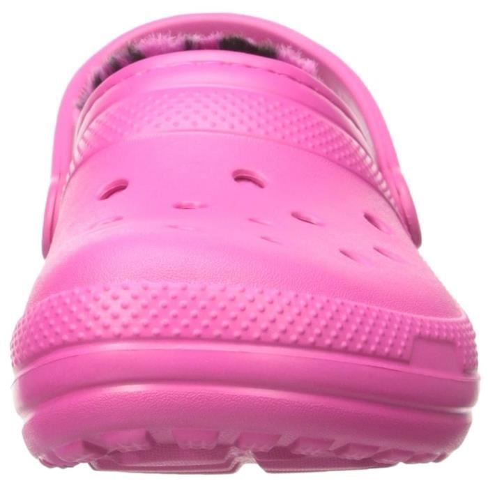 chaussons / pantoufles classic lined femme crocs classic lined f