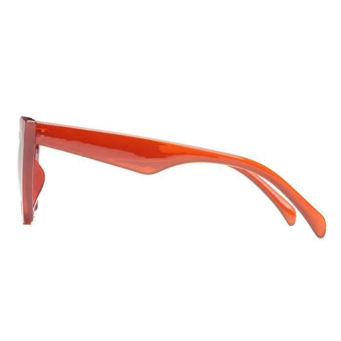 Deuxsuns®Femmes Mode Cat Eye Shades lunettes de soleil UV intégré couleur lunettes de couleur C@zf881