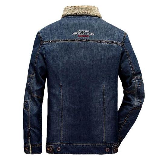 sale retailer 71feb 6a05d Baggy Masculin Hommes Vêtement De Plus Homme Hipster Veste Velours A Jean  La Mode En wx6zzfPnqO