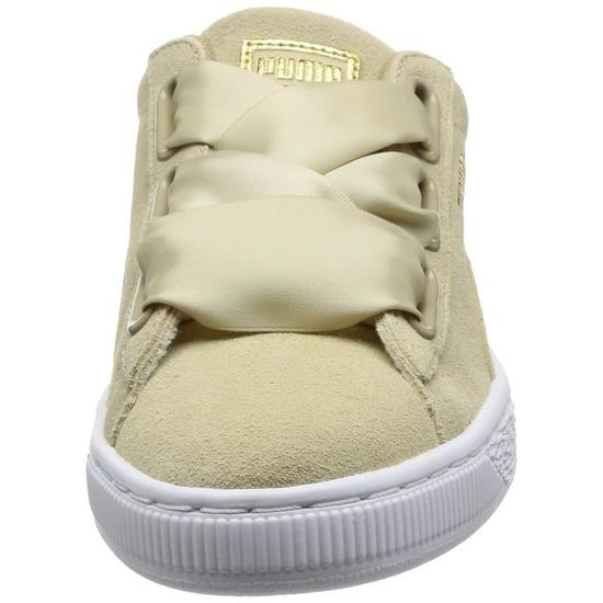 Puma Women's Suede Heart Safari Low top Sneakers 3KBWP6 Taille 37