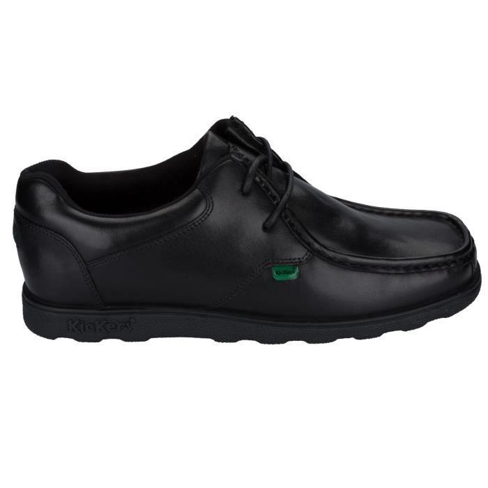 Chaussures Kickers Fragma à lacets en noir pour homme fzuvPsm