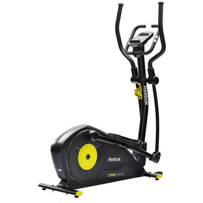 REEBOK Vélo Elliptique GX40 - 4 programmes- 6 kg d'inertie- résistance magnétique