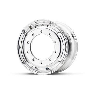 Roue ALCOA en aluminium forgé pour Poids Lourd - 22.5x11.75 déport 135 mm - Perçage 26 mm - Capacité 4.500 kg - Finition Dura-Bright