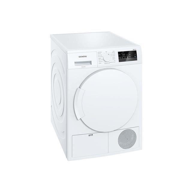 SIEMENS WT43N201FF- Sèche-linge à condensation 8kg - Classe B - Blanc