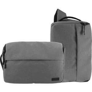T'nB DC2IN1GR URBAN Sac photo 2 en 1 - Compatible Reflex, Bridge, Hybride - Gris