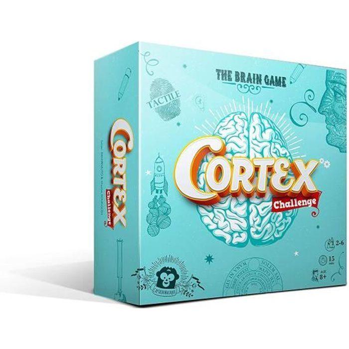 Cortex Challenge met au dé toutes les formes de l'intelligence !7 épreuves di érentes pour s'amuser avec la mémoire, le sensde l'observation, la coordination et la logique des joueurs.Chacun de ces titres propose aussi un challenge tactile.JEU DE SOCIETE