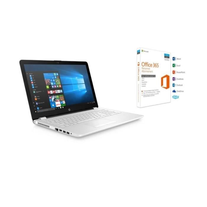 HP PC Portable 15-bs511nf 15,6\