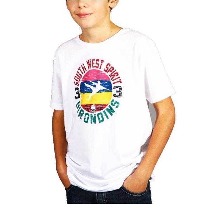 FCGB Tee-shirt Southwest spirit - Junior - Blanc