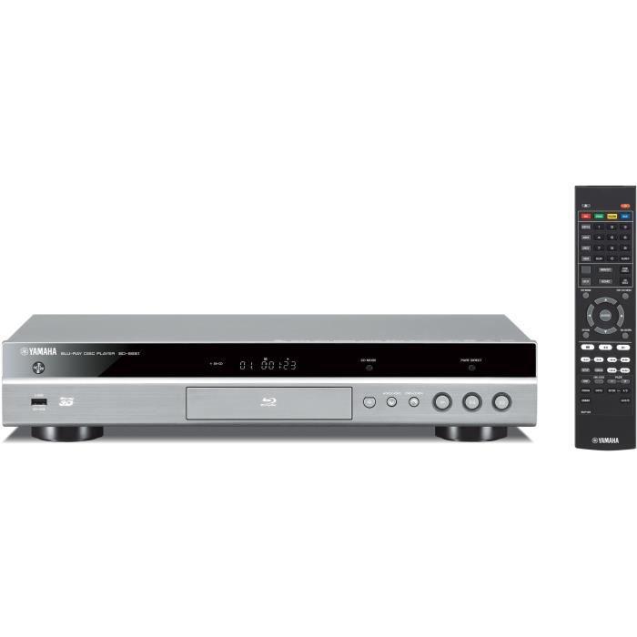 YAMAHA BD-S681 Lecteur Blu-Ray 3D / DVD - Titanium