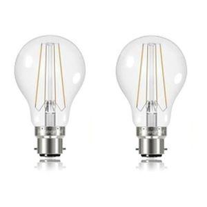 INTEGRAL LED Lot 2 ampoules B22 filament 6,2 W équivalent ? 60 W 2700 K 806 lm