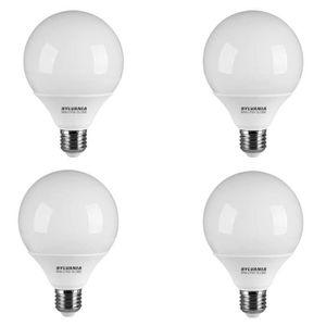 SYLVANIA Lot de 4 ampoules fluo compactes E27 20W équivalent ? 85 W