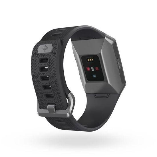 Sport Ionic Montre Connectée Gris Le Graphite Pour L'activité Et Fitbit mnOyv0wN8