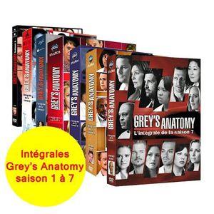 DVD SÉRIE DVD Grey's Anatomy Saisons 1 A 7