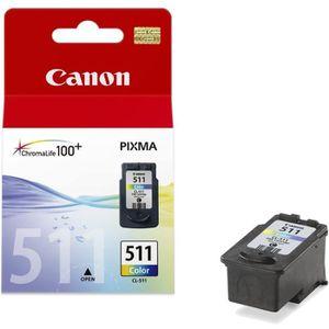 CARTOUCHE IMPRIMANTE Canon CL-511 Cartouches d'encre Multipack Couleurs