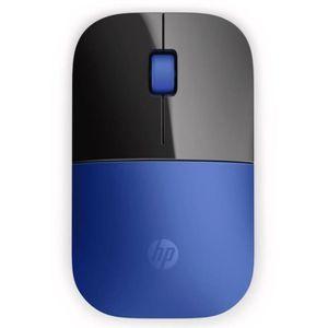SOURIS HP Souris Wireless Z3700 V0L81AA - Bleu libellule