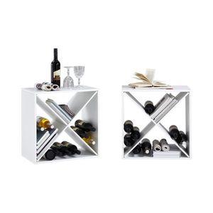 BUFFET DE CUISINE KIRI Set de 2 meubles étagères de cuisine L 53 cm