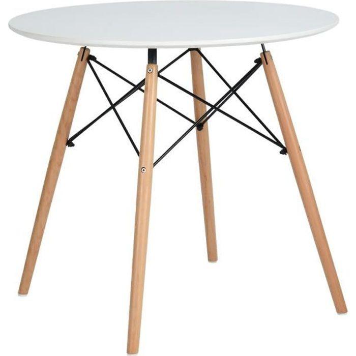 Table ronde 80 cm - Achat / Vente pas cher