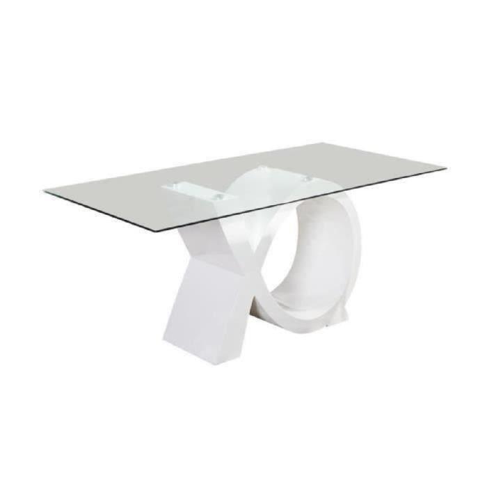TABLE À MANGER SEULE SHARON Table à manger 8 personnes contemporain - L