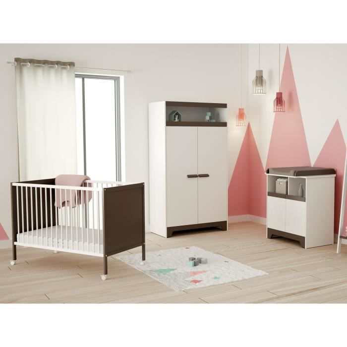 Chambre bb pas chere chambre bb pas cher leclerc with for Chambre bb volutive