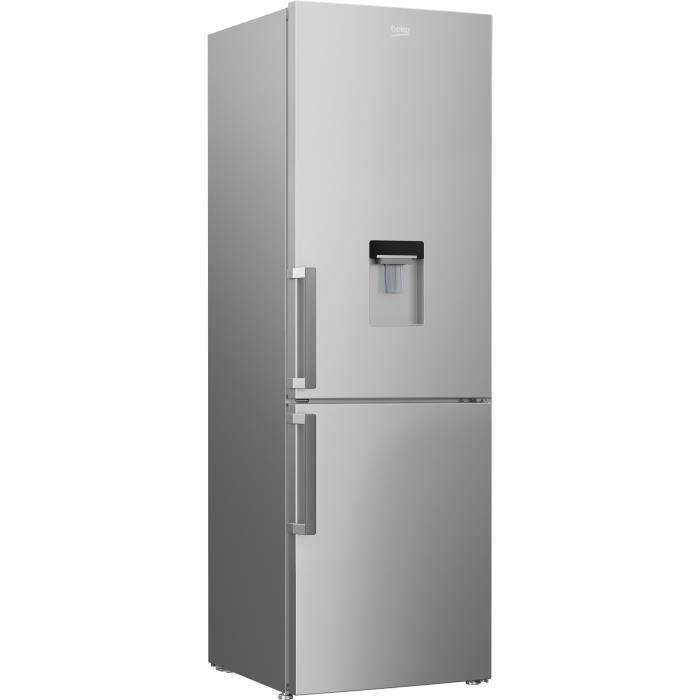 RÉFRIGÉRATEUR CLASSIQUE BEKO CRCSA295K21DS - Réfrigérateur congélateur bas