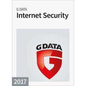 BUREAUTIQUE À TÉLÉCHARGER G Data Internet Security 2017 - 1 poste / 1 an - B