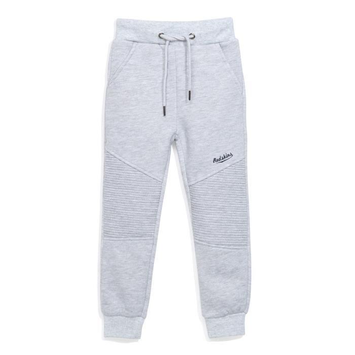 REDSKINS - Pantalon de Jogging Gris En Molleton - Enfant Garçon Gris ... ef3418a81e4
