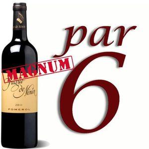 VIN ROUGE Magnum Fugue de Nenin 2011 rouge Pomerol x6