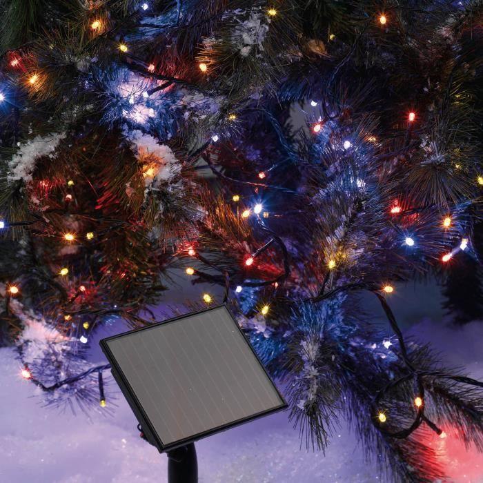 GUIRLANDE D'EXTÉRIEUR CODICO Guirlande solaire lumineuse - 50 LED - 5 m