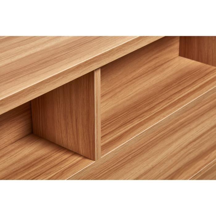 TÊTE DE LIT HONFLEUR Tête de lit classique en bois décor chêne