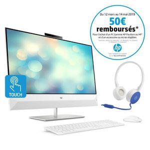ORDINATEUR TOUT-EN-UN HP PC Tout-en-un Pavilion 27-xa0001nf 27''FHD Tact