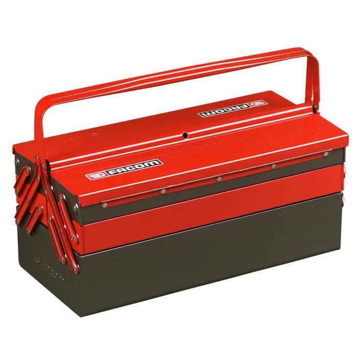 facom bo te outils vide en m tal 5 compartiments achat vente boite a outils bo te outil. Black Bedroom Furniture Sets. Home Design Ideas